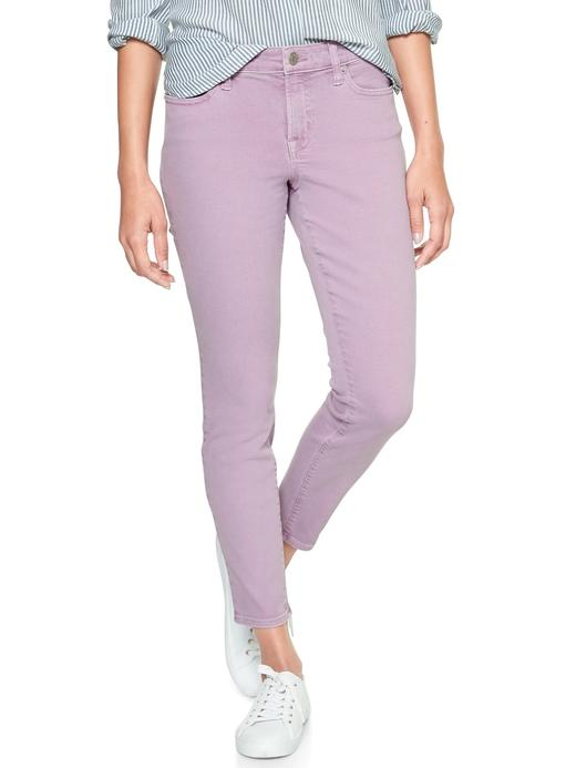 Orta belli jegging pantolon