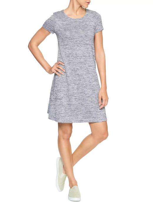 Softspun kısa kollu elbise