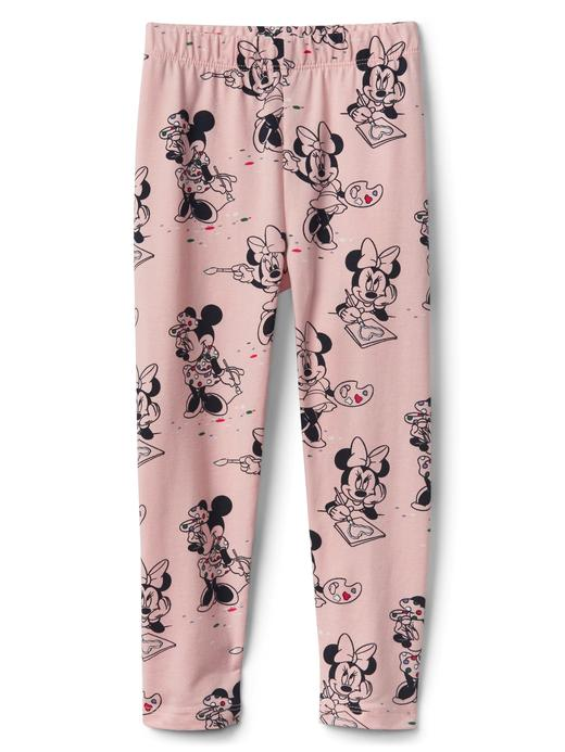 pembe GapKids | Disney Minnie Mouse streçli jarse tayt