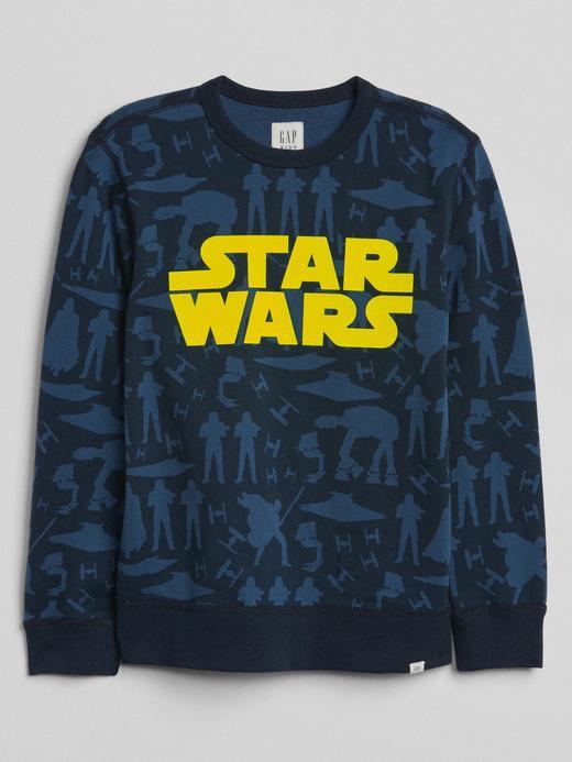 GapKids | Star Wars™ sıfır yaka sweatshirt