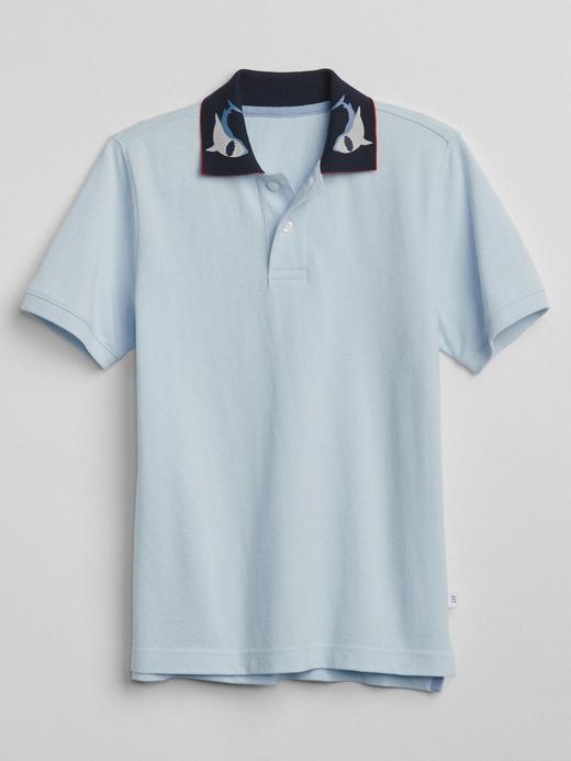 Kısa kollu polo t-shirt
