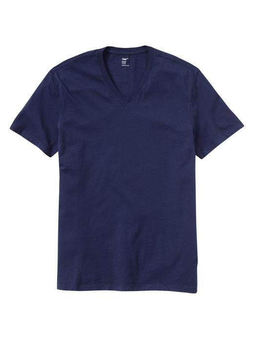 Erkek RAW INDIGO The Essential V Yaka T-Shirt
