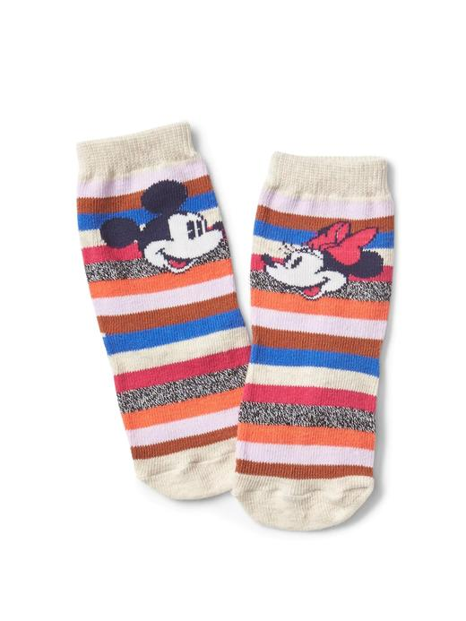 babyGap | Disney Baby Mickey Mouse and Minnie Mouse çizgili çorap