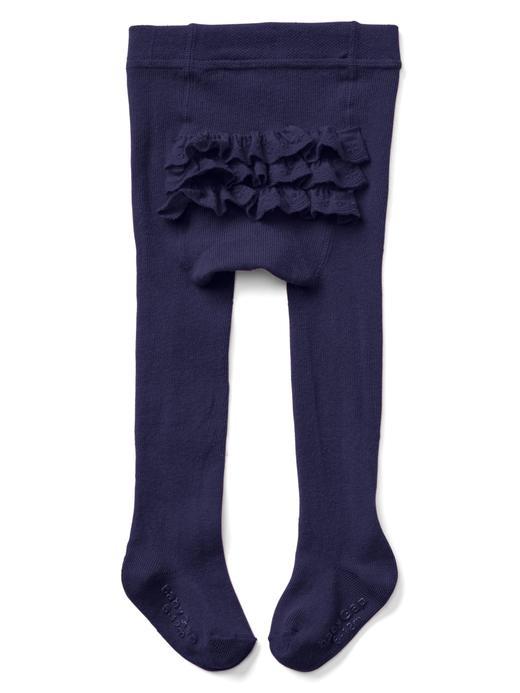Fırfırlı külotlu çorap