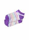 Bebek kelebek desenli Çizgili grafik desenli çorap