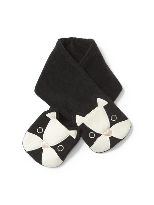 Bebek Siyah Polar atkı