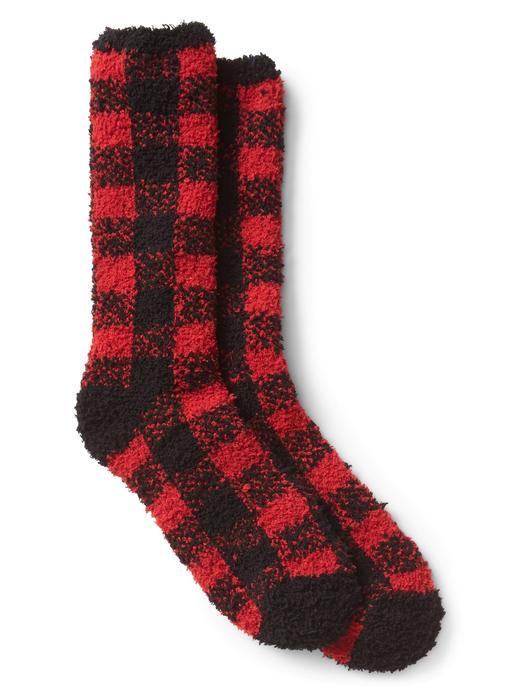 Çizgili ev çorabı