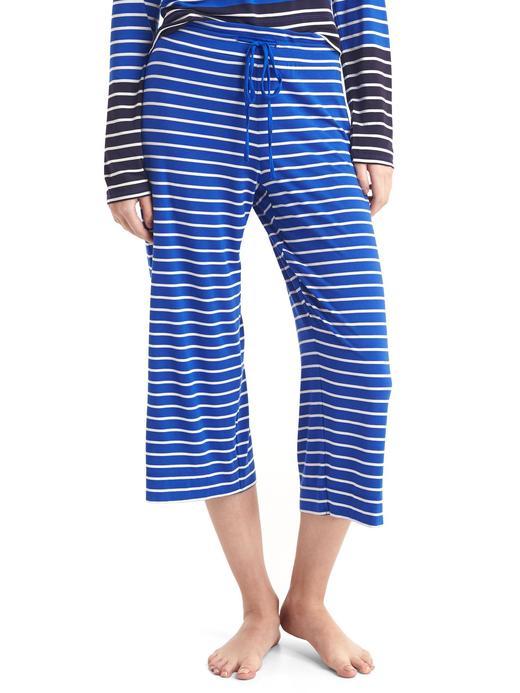 Desenli kısa paça pijama
