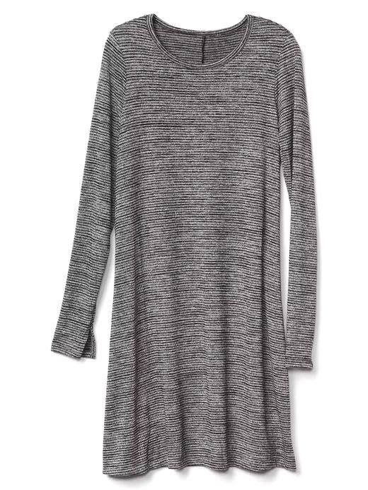 Softspun Çizgili T-Shirt Elbise