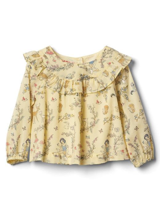 sarı babyGap | Disney Baby Snow White and the Seven Dwarfs fırfırlı üst