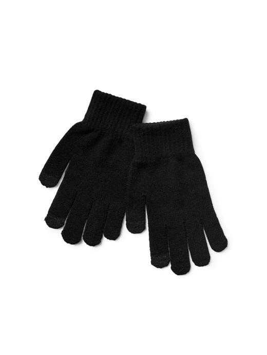 Erkek Siyah Örgü eldiven