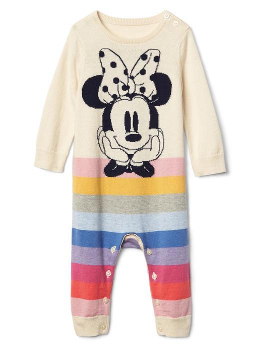 Bebek krem babyGap | Disney Baby Minnie Mouse çizgili tulum