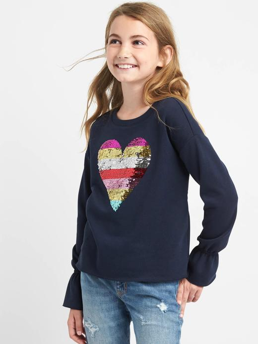 Pullu desenli sweatshirt