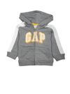 kırçıllı gri Logolu kapüşonlu sweatshirt