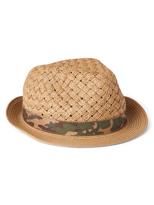 Dokuma hasır şapka