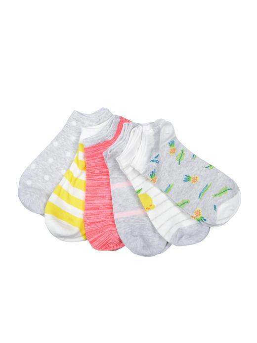 6'lı desenli çorap