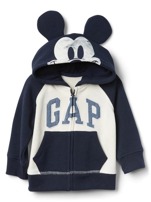 babyGap | Disney Mickey Mouse kulaklı sweatshirt