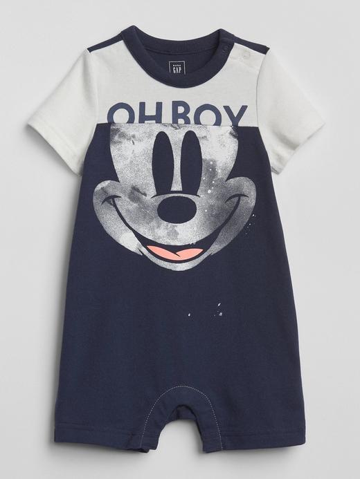 babyGap | Disney Mickey Mouse kısa kollu tulum