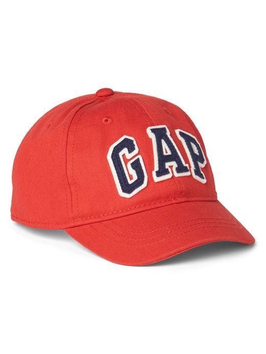 Bebek Kırmızı Gap Logo Şapka