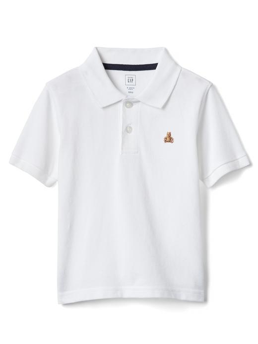 beyaz Brannan Bear polo t-shirt