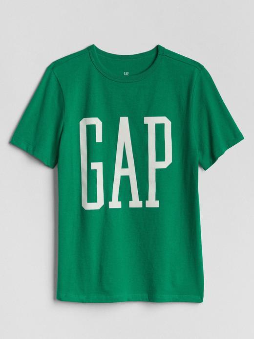 Yeşil Logolu kısa kollu t-shirt