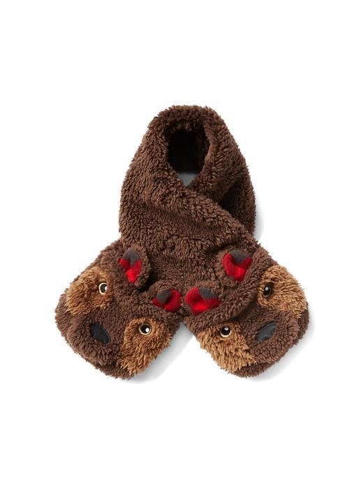 kahverengi Pro Fleece ayıcık atkı