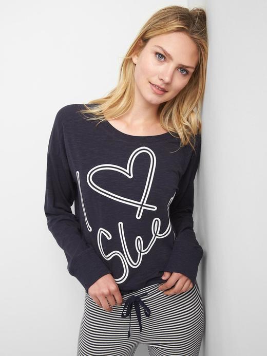 Grafik desenli sweatshirt