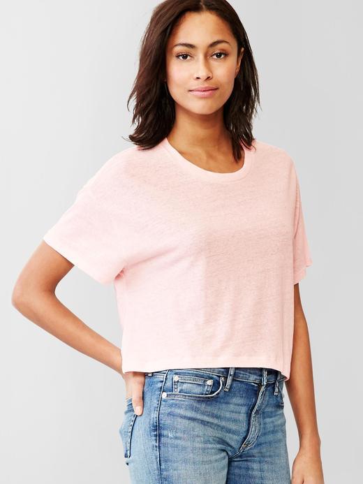 Düz renk kısa t-shirt