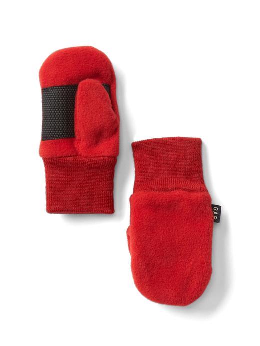 Bebek Kırmızı Polar eldiven