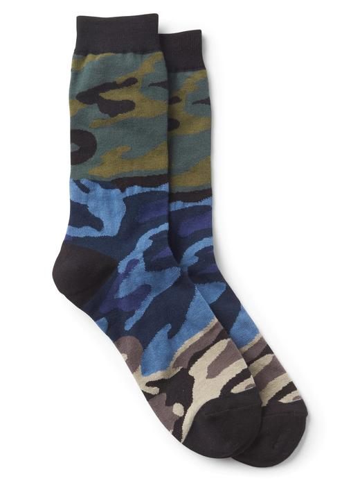 kamuflaj Desenli çorap