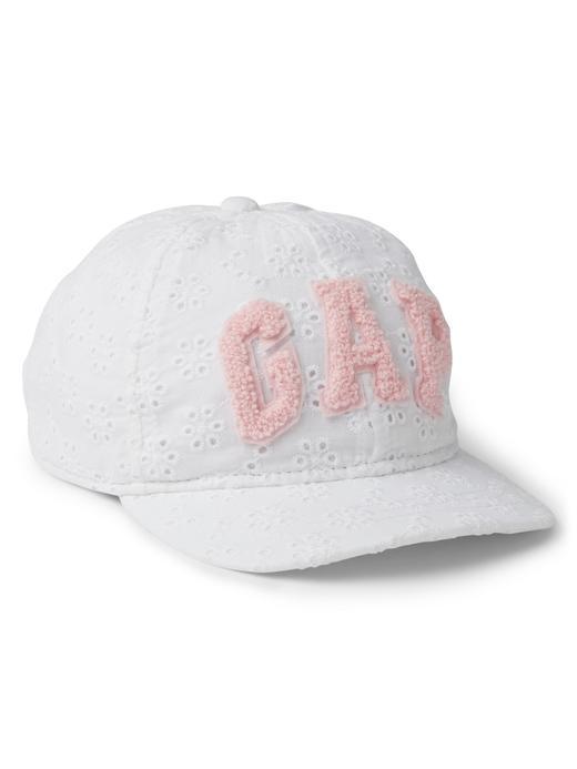 Bebek Beyaz Logolu şapka
