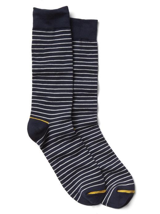 Çizgili klasik çorap