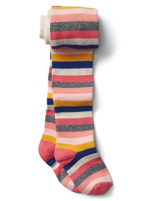 Çizgili külotlu çorap