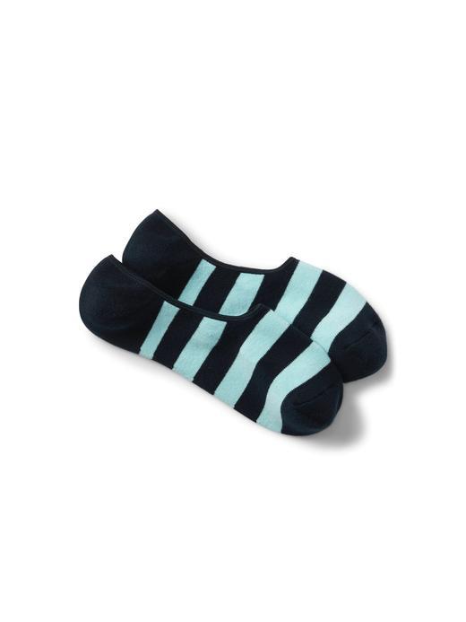 Erkek lacivert Çizgili çorap