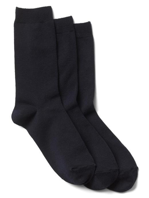 Kadın lacivert Klasik çorap (3 parça)