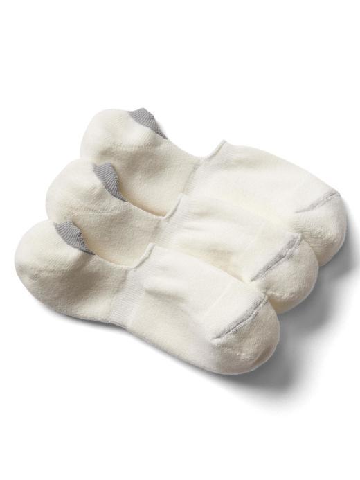Erkek Beyaz Kısa çorap