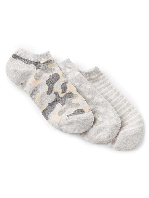 kamuflaj 3'lü desenli çorap