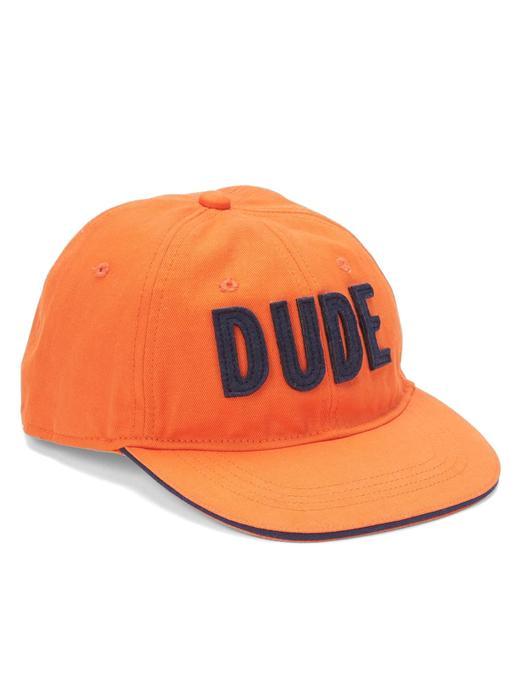 Erkek Çocuk Turuncu Dude baseball şapkası