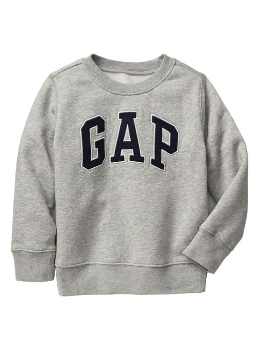 Bebek gri Gap Logo Sweatshirt