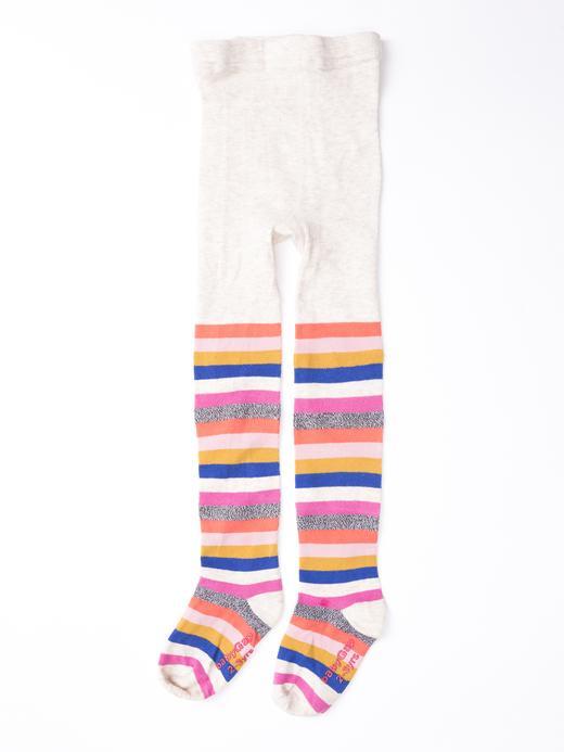 Bebek çok renkli Çizgili külotlu çorap
