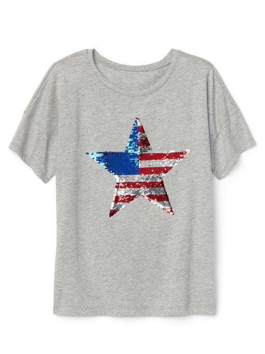 gri Pullu kısa kollu t-shirt