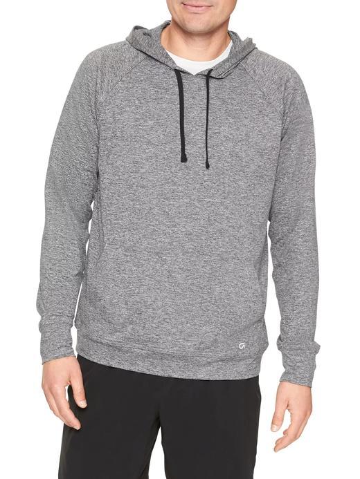 Kapüşonlu jarse sweatshirt
