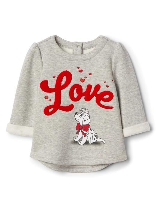 babyGap   Disney Dalmaçyalılar polar sweatshirt