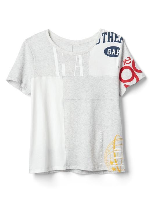 Logo remix kısa kollu t-shirt