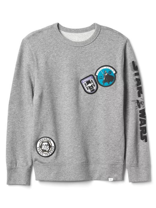gri GapKids   Star Wars™ sıfır yaka sweatshirt