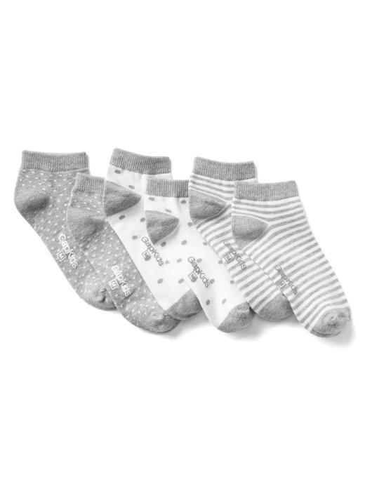 Desenli 3 çift çorap
