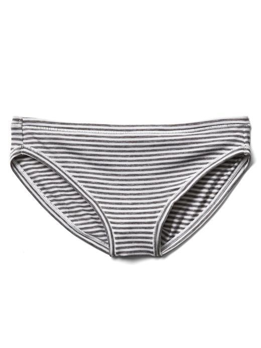 Kadın gri Düşük Belli Bikini Külot