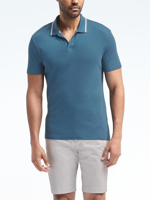 Spor polo yaka t-shirt