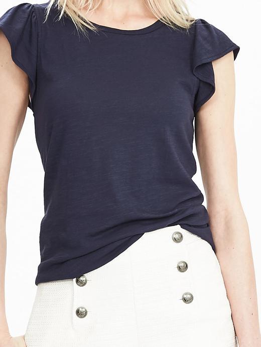 Fırfırlı kollu bluz