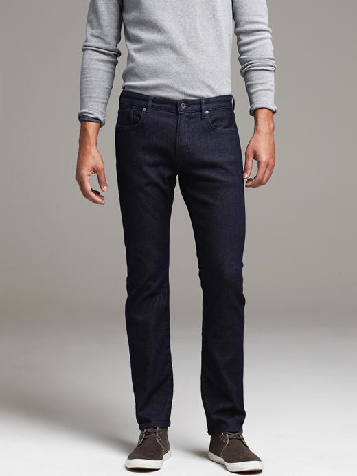Traveler Slim Fit Koyu Jean Pantolon